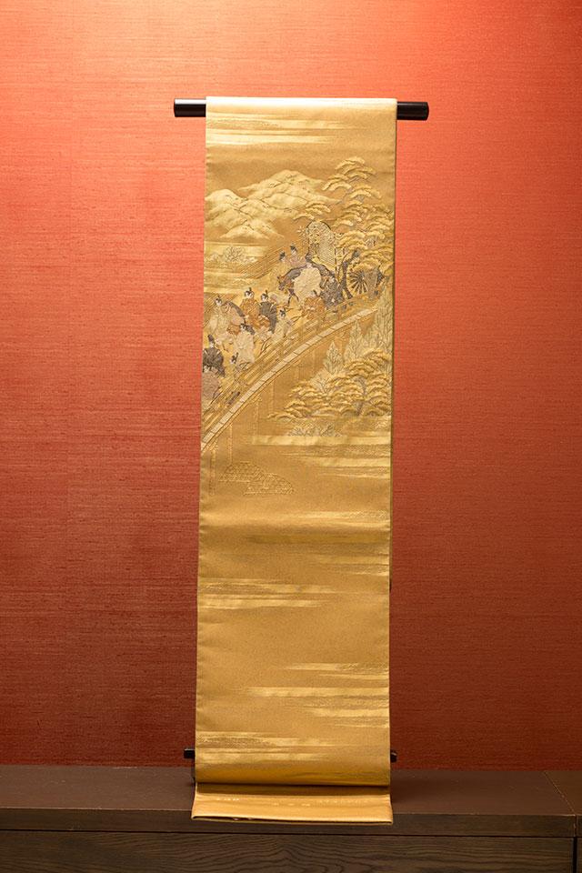 梅垣織物・洛中洛外祭礼文